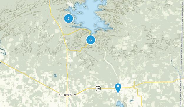 Broken Bow, Oklahoma Wildlife Map