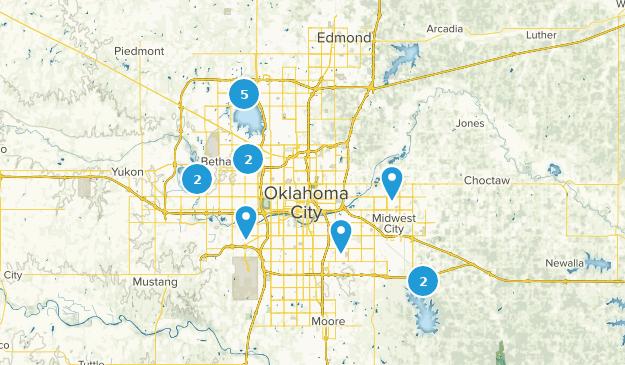 Best Kid Friendly Trails near Oklahoma City, Oklahoma ... Jones Oklahoma Map on