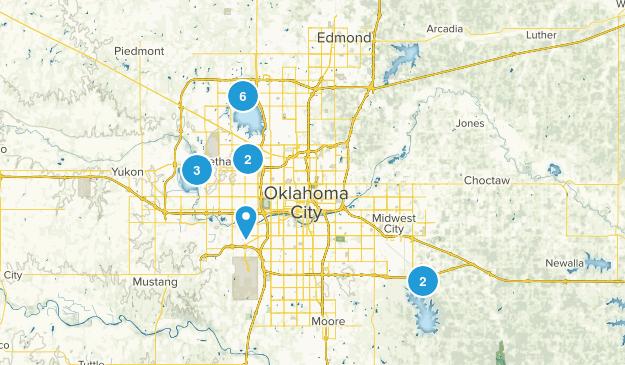 Oklahoma City, Oklahoma Walking Map