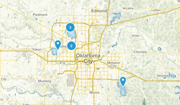 Oklahoma City, Oklahoma Wildlife Map