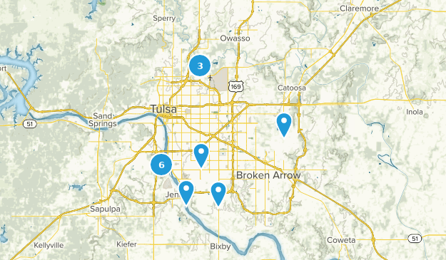 Best Trail Running Trails Near Tulsa Oklahoma Alltrails - Tulsa-on-us-map