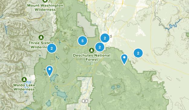 Bend, Oregon Dog Friendly Map
