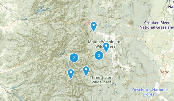 Blue River, Oregon Trail Running Map