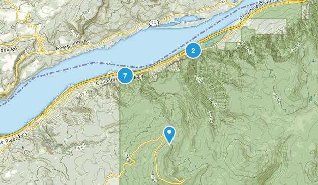 Bridal Veil, Oregon Trail Running Map