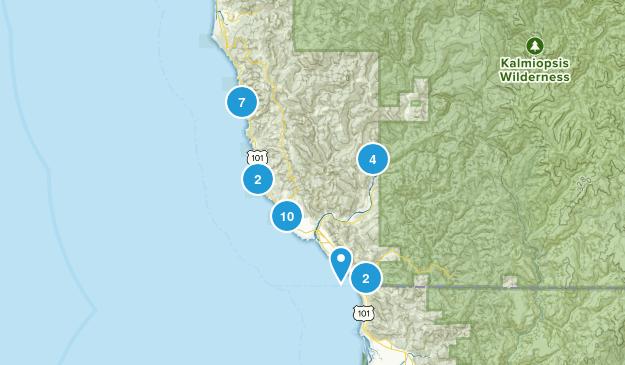 Brookings, Oregon Kid Friendly Map