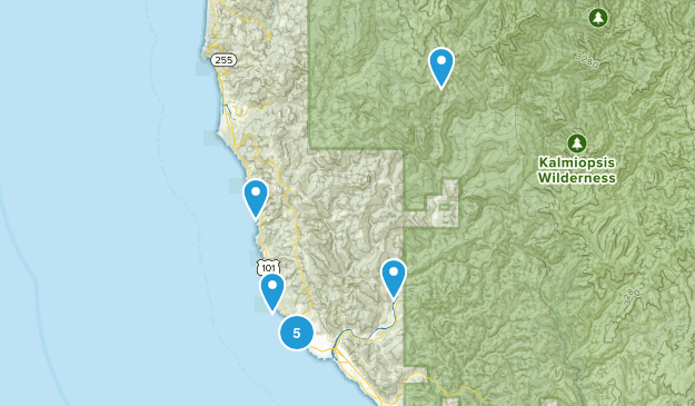 Brookings, Oregon Wildlife Map