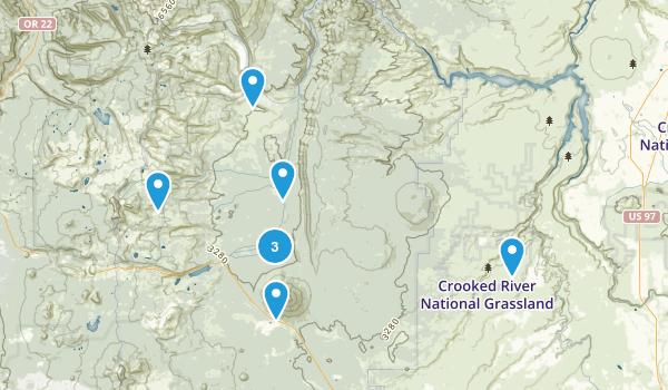Camp Sherman, Oregon Birding Map