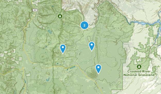 Camp Sherman, Oregon Dog Friendly Map
