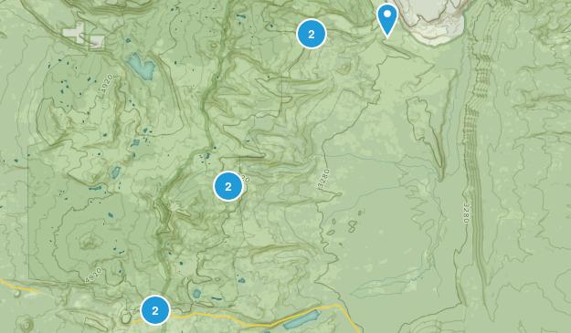 Camp Sherman, Oregon Lake Map