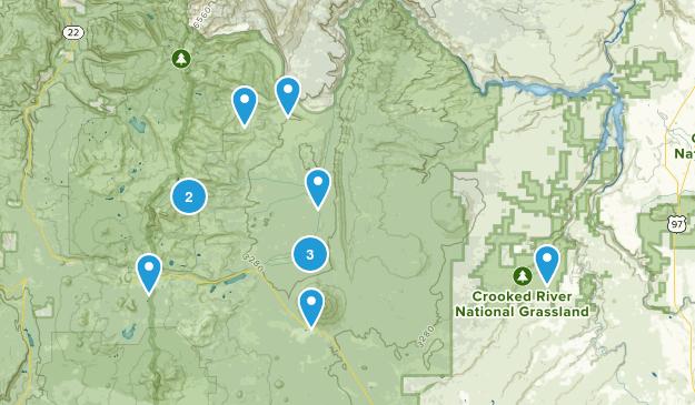 Camp Sherman, Oregon Nature Trips Map