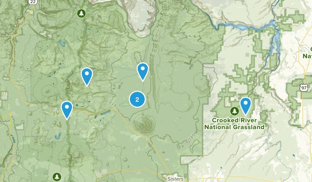Camp Sherman, Oregon Wild Flowers Map