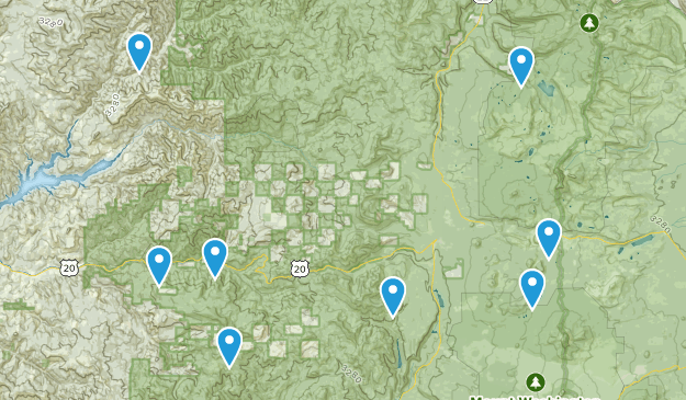 Cascadia, Oregon Dog Friendly Map