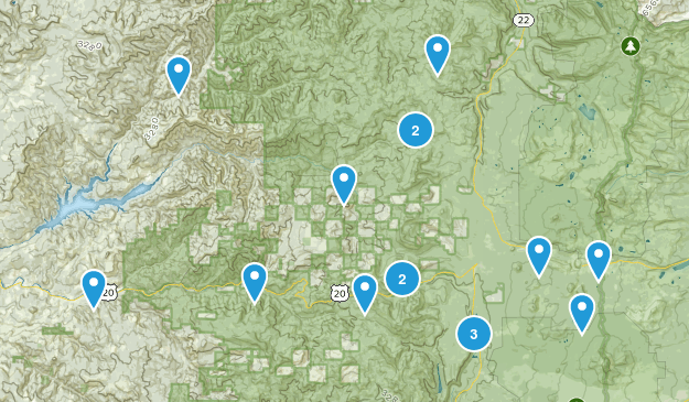 Cascadia, Oregon Kid Friendly Map