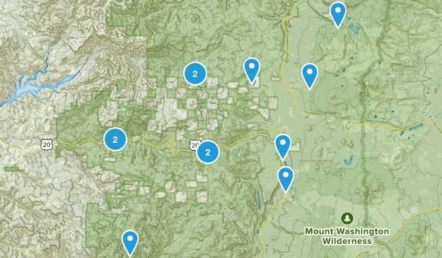 Cascadia, Oregon Wildlife Map