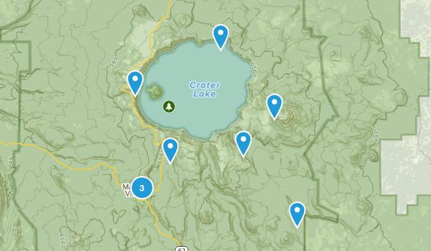Chiloquin, Oregon Views Map