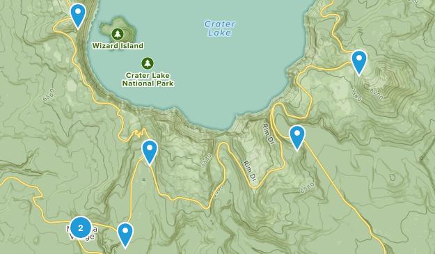 Chiloquin, Oregon Wild Flowers Map