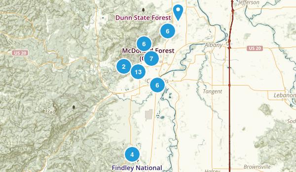 Corvallis, Oregon Kid Friendly Map