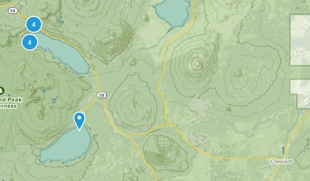 Crescent, Oregon Birding Map
