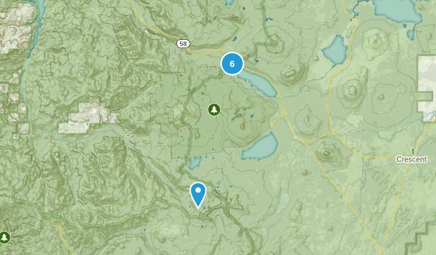Crescent, Oregon Walking Map