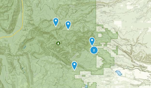 Dufur, Oregon Dogs On Leash Map