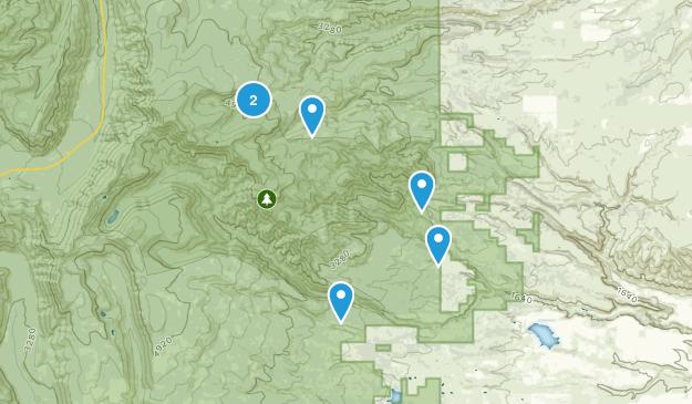 Dufur, Oregon Views Map