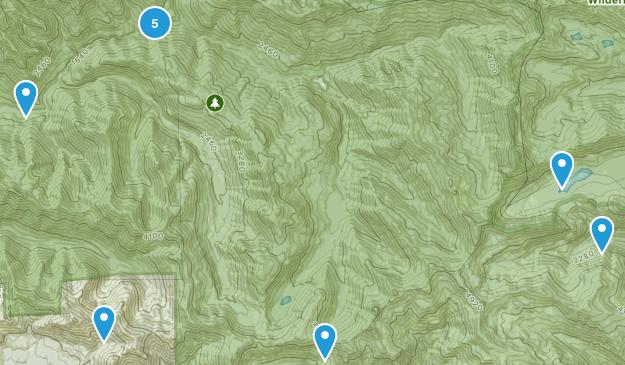 Elkhorn, Oregon Hiking Map