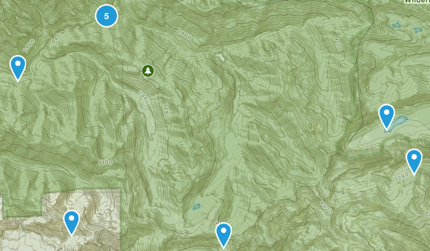 Elkhorn, Oregon Views Map