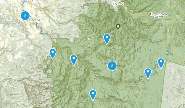 Estacada, Oregon Wildlife Map