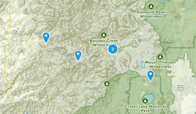 Glide, Oregon Dog Friendly Map