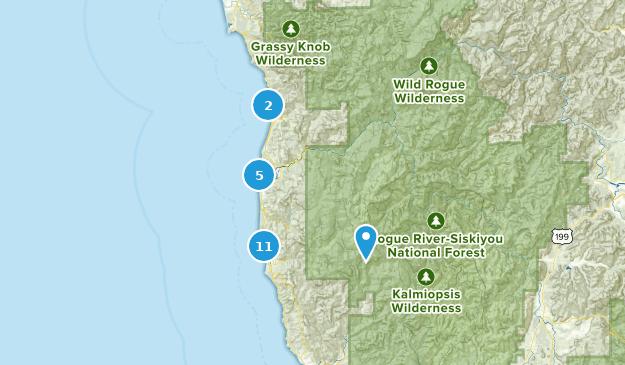 Gold In Oregon Map.Best Hiking Trails Near Gold Beach Oregon Alltrails