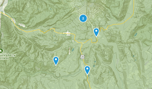 Government Camp, Oregon Dog Friendly Map