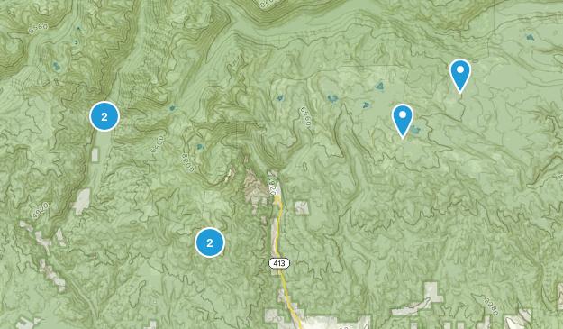 Halfway, Oregon Wild Flowers Map