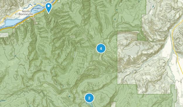 Hood River, Oregon Lake Map