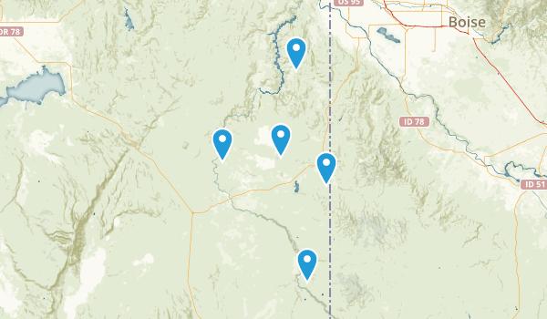 Jordan Valley, Oregon Birding Map
