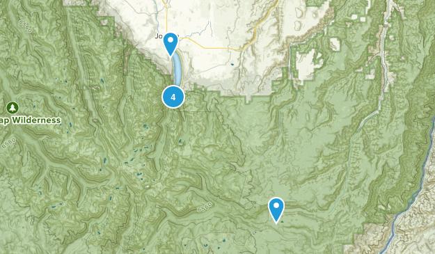 Joseph, Oregon River Map