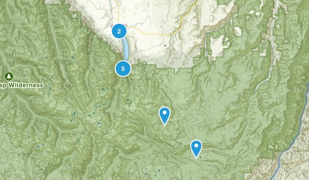 Joseph, Oregon Wild Flowers Map