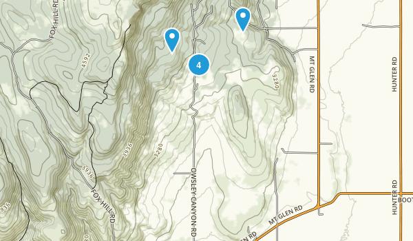 La Grande, Oregon Forest Map