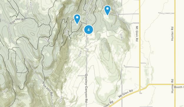La Grande, Oregon Walking Map
