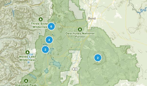 La Pine, Oregon Dog Friendly Map