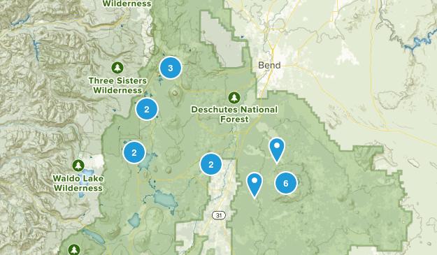 La Pine, Oregon Walking Map