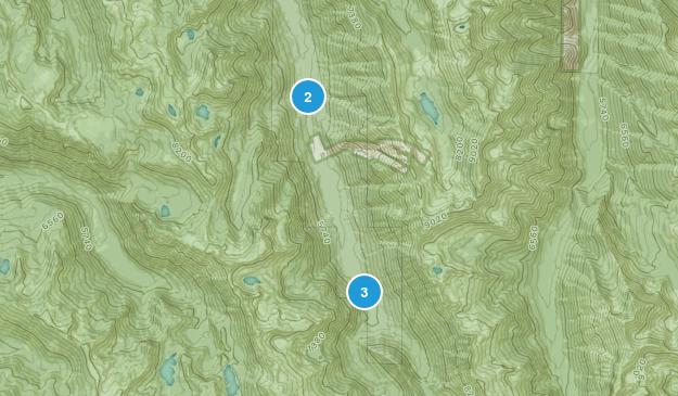 Lostine, Oregon Backpacking Map