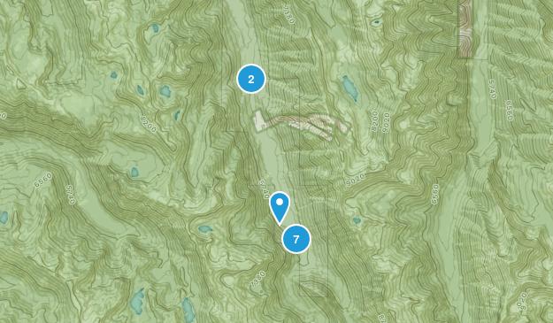Lostine, Oregon Hiking Map