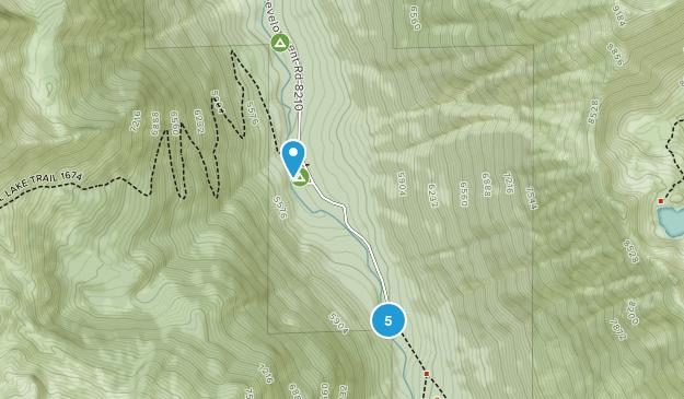 Lostine, Oregon Nature Trips Map