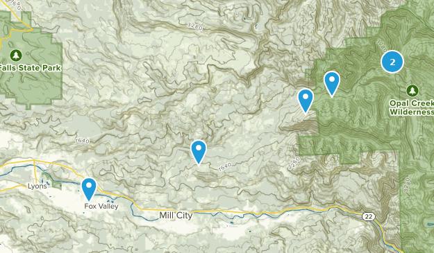Lyons Oregon Map.Best River Trails Near Lyons Oregon Alltrails