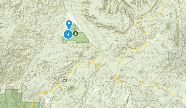 Mitchell, Oregon Kid Friendly Map