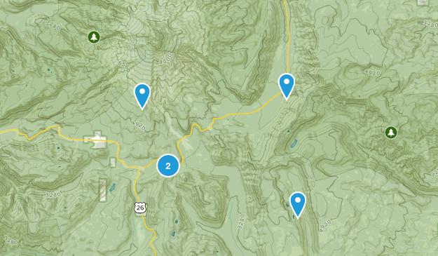 Mt Hood, Oregon Camping Map