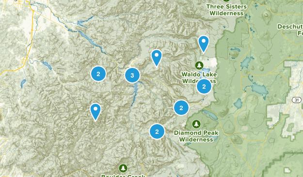 Oakridge, Oregon Kid Friendly Map