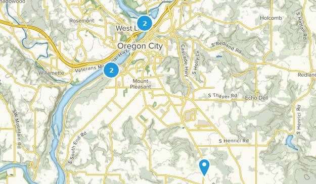 Oregon City, Oregon Bird Watching Map