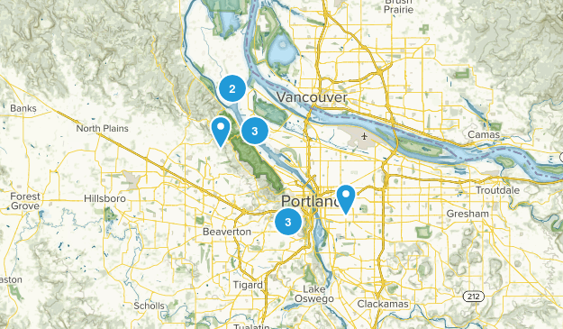 Portland, Oregon Dog Friendly Map
