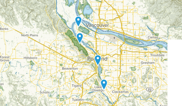 Beste Routen zum Angeln in der Nähe von Portland, Oregon ...